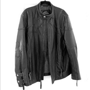 Affliction leather 2XL. Brand new condition.